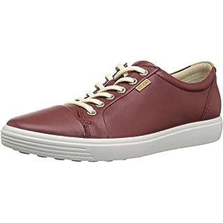 ECCO Women's Soft 7 Sneaker, Fired Brick, 43 M EU (12-12.5 US)