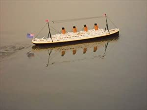 """Ready To Run Remote Control RMS Titanic 32"""" with Lights - White Star Lines - Remote Control Model Cruise Ship - RC Ocean Liner - Model Cruise Ship"""