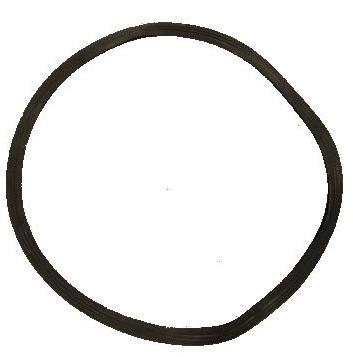 "Barber Salon Equipment Floor Protective Rubber Gasket Trim Ring 23"" for Styling Chair"