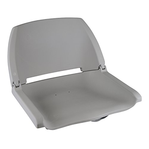 Wise 8WD138 Series Molded Fishing Boat Seat, Grey ()
