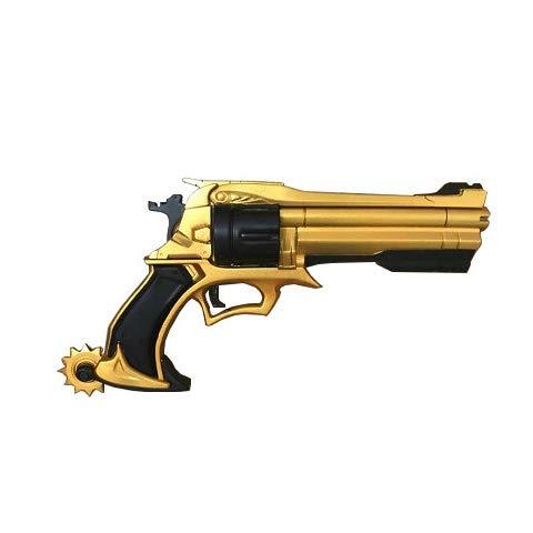 Arsimus 11 inch Video Game Foam Hero Cowboy Revolver Gun (Gold)