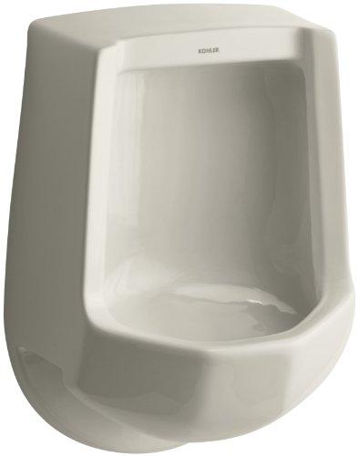 Kohler Elongated Urinal - Kohler K-4989-R-G9 Freshman Urinal with Rear Spud, Sandbar