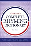 img - for Schirmer's Complete Rhyming Dictionary Hardcover book / textbook / text book