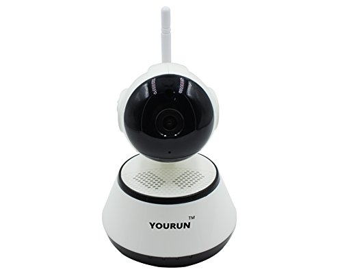 Night Switching (YOURUN Wireless IP Camera 720p HD Night Vision,Day And Night Mode Automatically Switching,Night Visibility Up To 10 Meters,Motion Detect,Two Way Audio,For Home/Baby/Pet/Office,White)