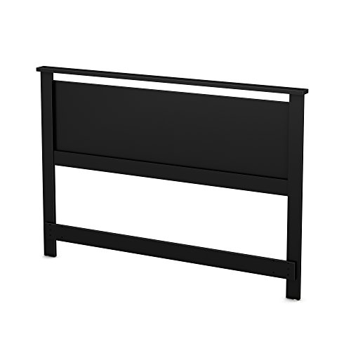 South Shore 54/60'' Primo Headboard, Full/Queen, Pure Black ()
