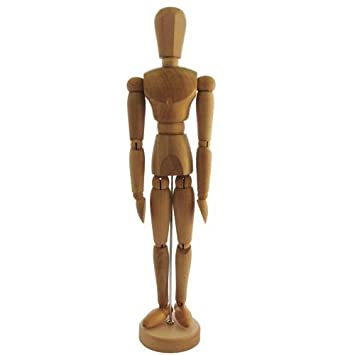 12 artists male wooden manikin mannequin jakar amazon co uk