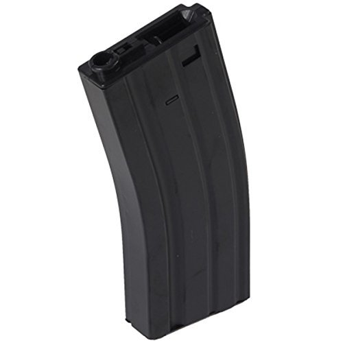 - UKARMS M4 / M16-350 Round Airsoft Hi-Cap Magazine Clip AEG Electric Rifles - Metal