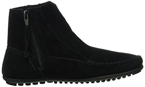 Minnetonka Willowboot, Mocassins (Loafers) Femme Noir (Bkhp)