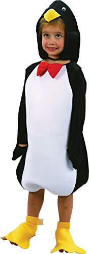[Toddlers Penguin Hat, Jumpsuit & Foot Covers Costume] (Baby Costumes Penguin)