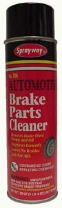 UPC 041911007061, Brake Parts Cleaner