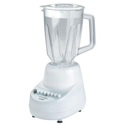 Continental Electric White 10 Speed Blender