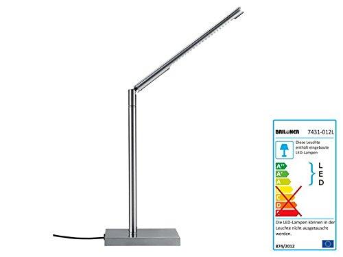 Livarnolux LED Tischleuchte In Schwarz