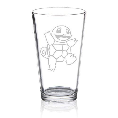 Squirtle - Etched Pint Glass