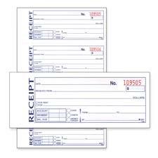amazon com adams business forms money rent receipt book