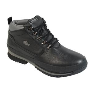 3eabe862658 Lacoste Upton Hiking Boots Black Grey 7 UK  Amazon.co.uk  Shoes   Bags