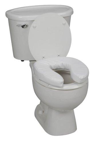 2 inch toilet seat. Padded Vinyl Raised Toilet Seat Size 2 inch  Amazon com