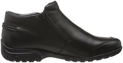 Rieker L4685, Botines para Mujer Negro (schwarz/schwarz / 00)