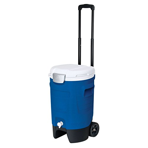 Igloo Sport Roller Beverage Cooler (Majestic Blue, 5-Gallon) (Screw Top Cooler)