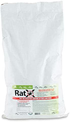 EcoClear Products 620103, RatX All-Natural Non-Toxic Humane Rat and Mouse Killer Pellets, 25 lb. Bag