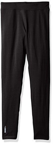 Duofold Big Boys' Flex Weight Thermal Pant, Black, X Large