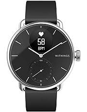Withings ScanWatch Hybrid Smartwatch med EKG, pulssensor och oximeter