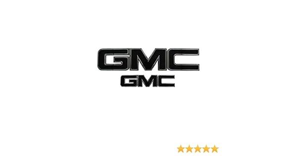 AMI 96515K GMC Grille /& Lift gate Emblem Black Powder coat 1 Pack