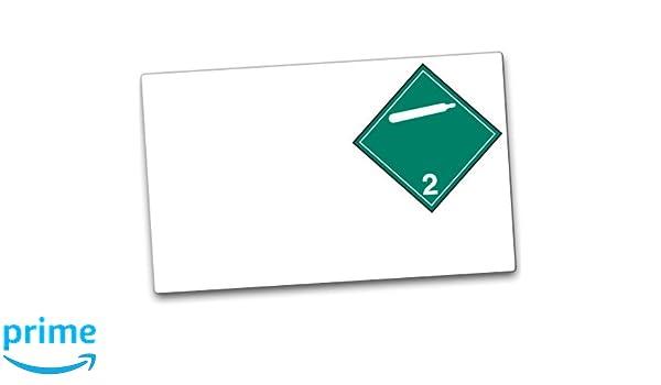 Class 2.2 Pack of 100 Incom Manufacturing GHS1285LP Paper GHS//HazCom 2012: Drum Labels