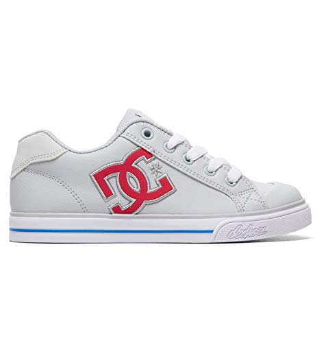 DC Shoes Girls Shoes Chelsea - 7 - Grey Grey/Pink 7