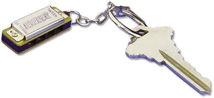 hohner108Mini Armónica, clave cadena, clave de do mayor