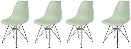 GIA Mid-Century Plastic Chair