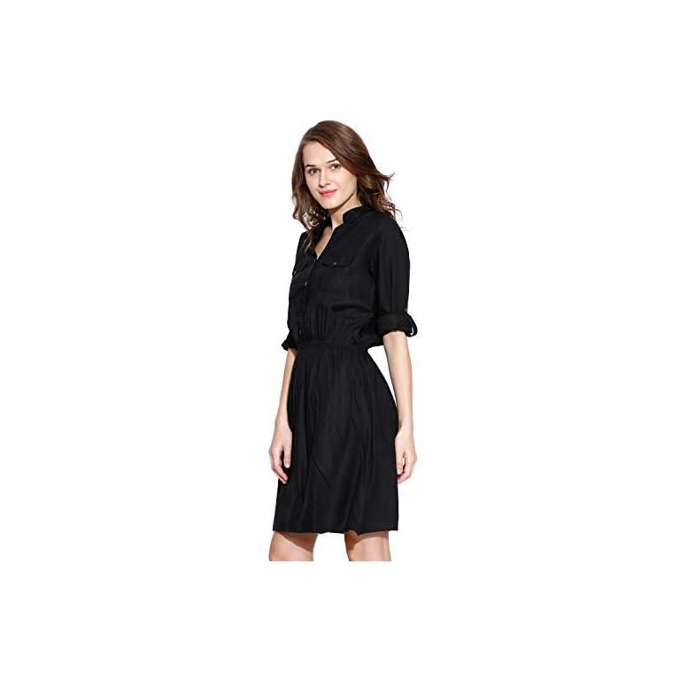 31JSV1TY7VL. SS768  - Amayra Women's Knee Length Dress.