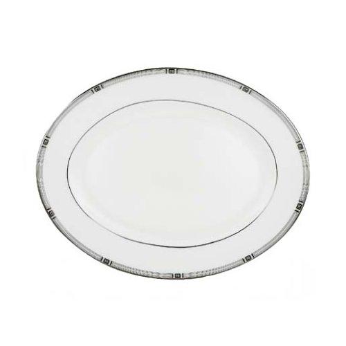 Lenox Westerly Platinum Bone China 13-Inch Oval Platter Bone China 13 Oval Platter