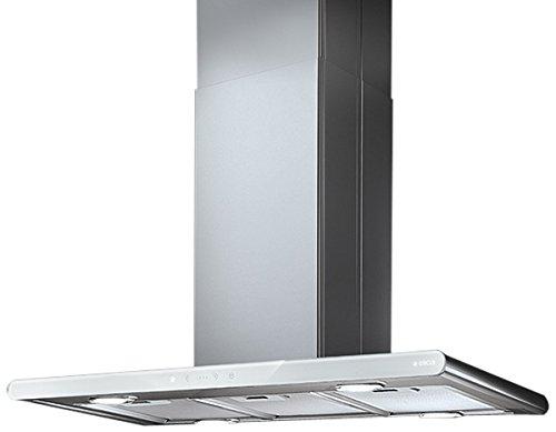 Elica Galaxy Inselhaube (90 cm) / Stahl/Glas Weiß / PRF0019192