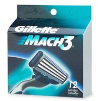Gillette Mach 3 Refills - 64 Cartridges