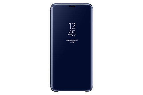 Samsung Galaxy S9+ S-View Flip Case with Kickstand, Blue