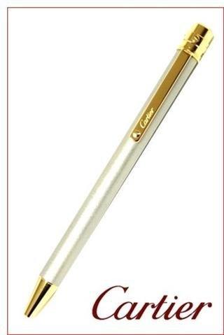 CARTIER(カルティエ) ST150192 サントス ボールペン スティールカラーラッカー ゴールドプレイテッド B007PYRLJM