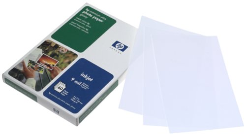 HP Premium Plus Photo Paper, Glossy (C7024A, 4x6, 60 (Hp Professional Photo)