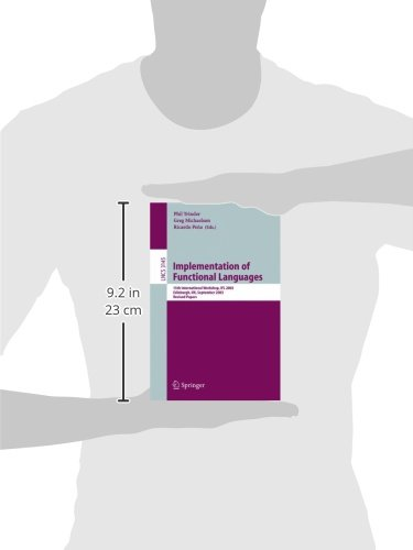 Implementation of Functional Languages: 15th International Workshop, IFL 2003, Edinburgh, UK, September 8-11, 2003. Revised Papers (Lecture Notes in Computer Science)