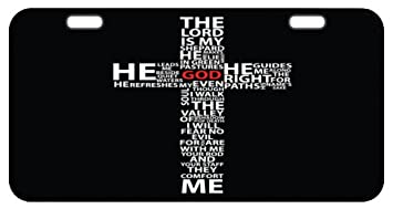 Jesus Christ Easter Cross Decorative Front PlateCar PlateCar TagLicense Plate  sc 1 st  Amazon.com & Amazon.com : Jesus Christ Easter Cross Decorative Front Plate Car ...