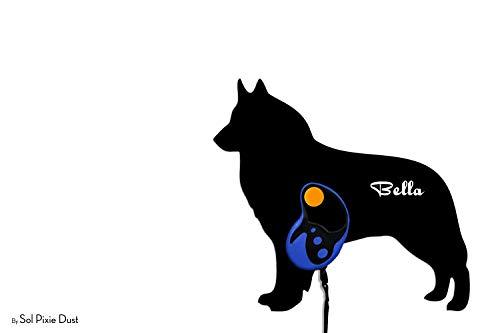 Belgian Tervuren Dog - Custom Name Dog Leash Holder - Wall Hook ()