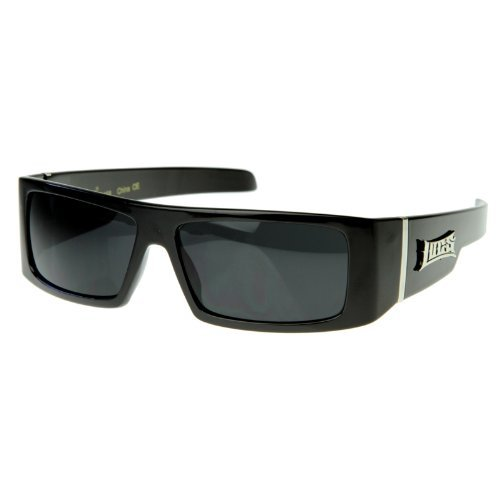 Locs - Official LOCS Hardcore Gangsta Shades Square Sports Frame Sunglasses LOKES - Shades Locs