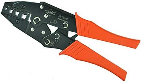 ケーブルカッター 手動圧着ペンチ 10-35mm² 8-2AWG ワイヤエンドフェルール 圧着プライヤー 電線圧着工具 手動ケーブルカッター