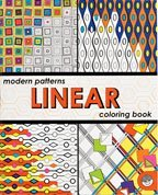 Modern Patterns Linear Coloring Book