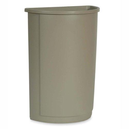 Wholesale CASE of 3 - Rubbermaid Half Round Wastebaskets -Wa
