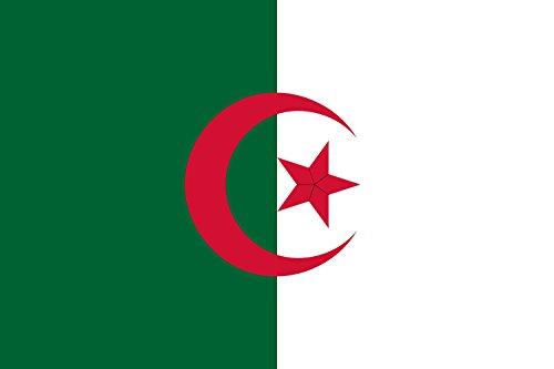magFlags Large Flag Algeria 1979   En 1979, le prsident Bendjedid est apparu sur une photographie accompagne d une variante du drapeau national qui peut tre le drapeau pr&eacut