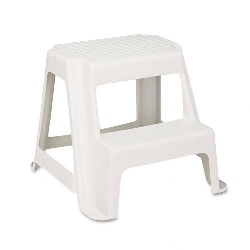 Awesome Rubbermaid 42221 Two Step Stool Holds 300 Lbs 18 1 2X18 1 4X16 Almond Pdpeps Interior Chair Design Pdpepsorg
