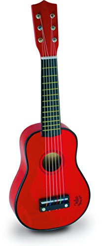 Vilac Baby Guitar Musical Toy, Red Children's by Vilac
