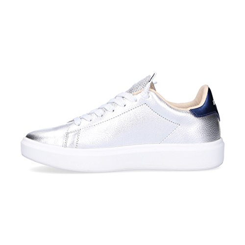 Silver L4611SILVER Leather Sneakers Leggenda Women's Lotto wxPz6n
