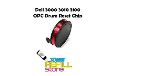 Toner Refill Store ™ Drum Reset Chip for the Dell 3100 3100CN 3000 (3100cn Drum)