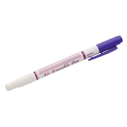 Lychee Fabric Marker Pen Disappearing Ink Air Water Erasable Pen Temporary Auto-Vanishing Sew Tool